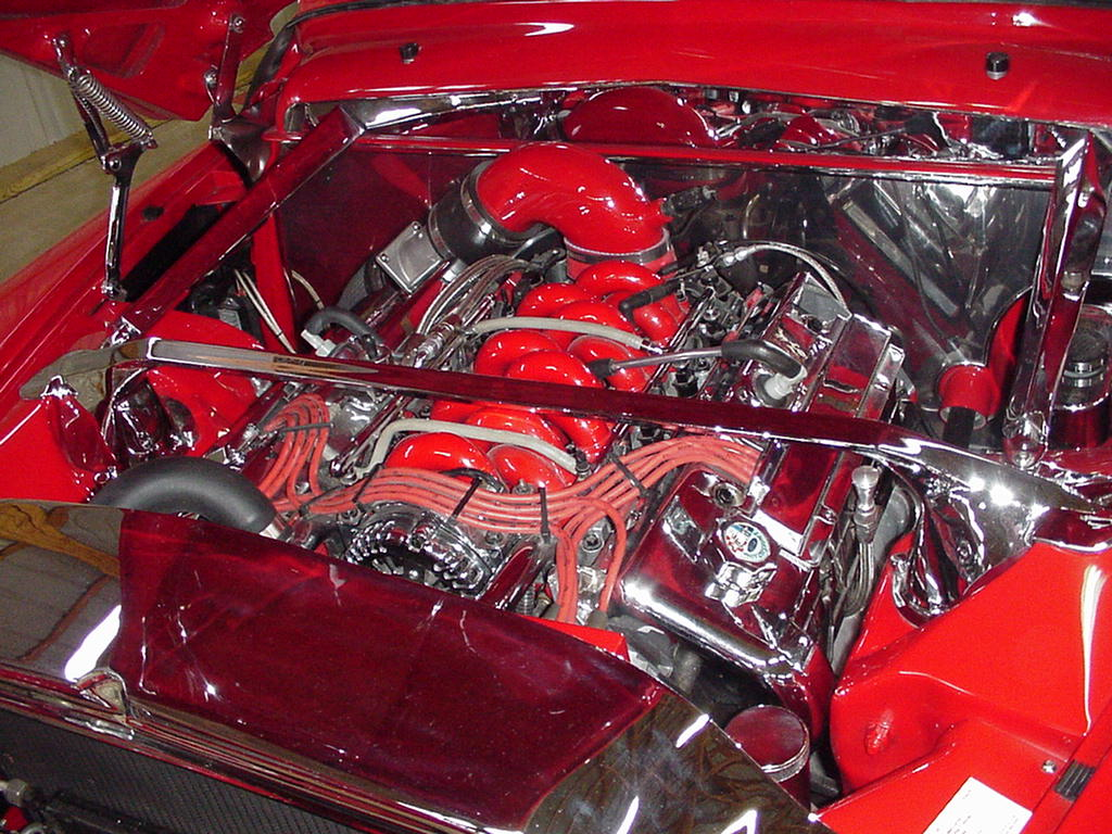 1949 Mercury With Mark Viii Components
